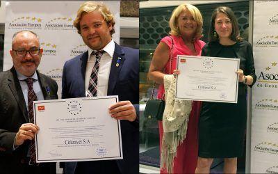 Cititravel DMC Presented with Prestigious European Award for Merit in Work