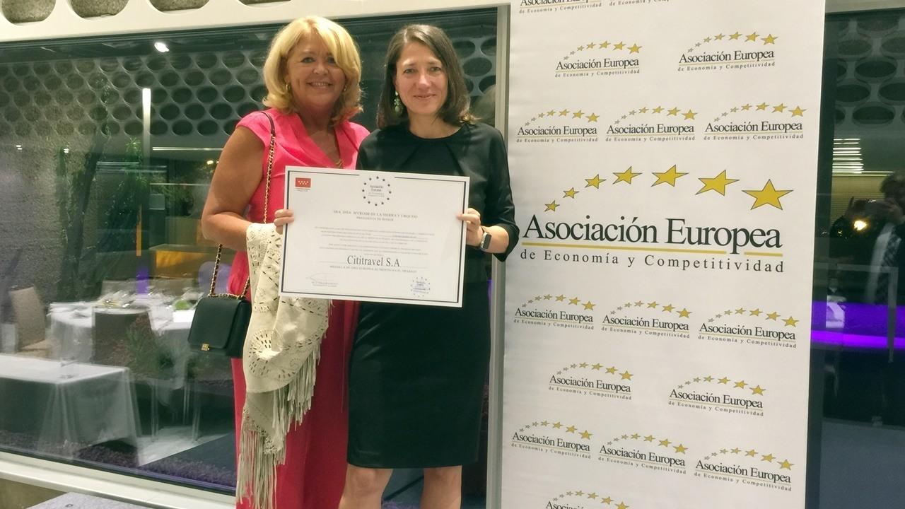 Cititravel DMC European Award for Merit in Work