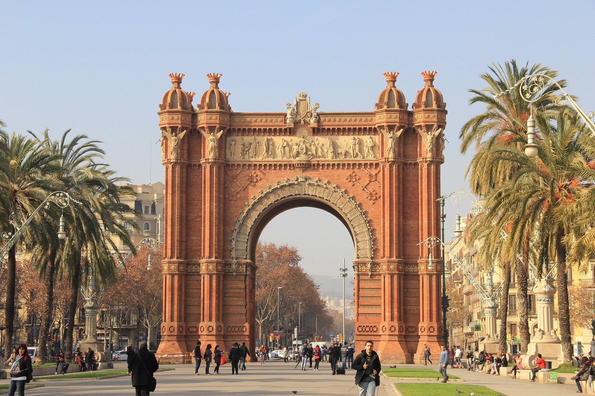 Visiting Barcelona: 5 Places Not to Miss - Arco Triunfo
