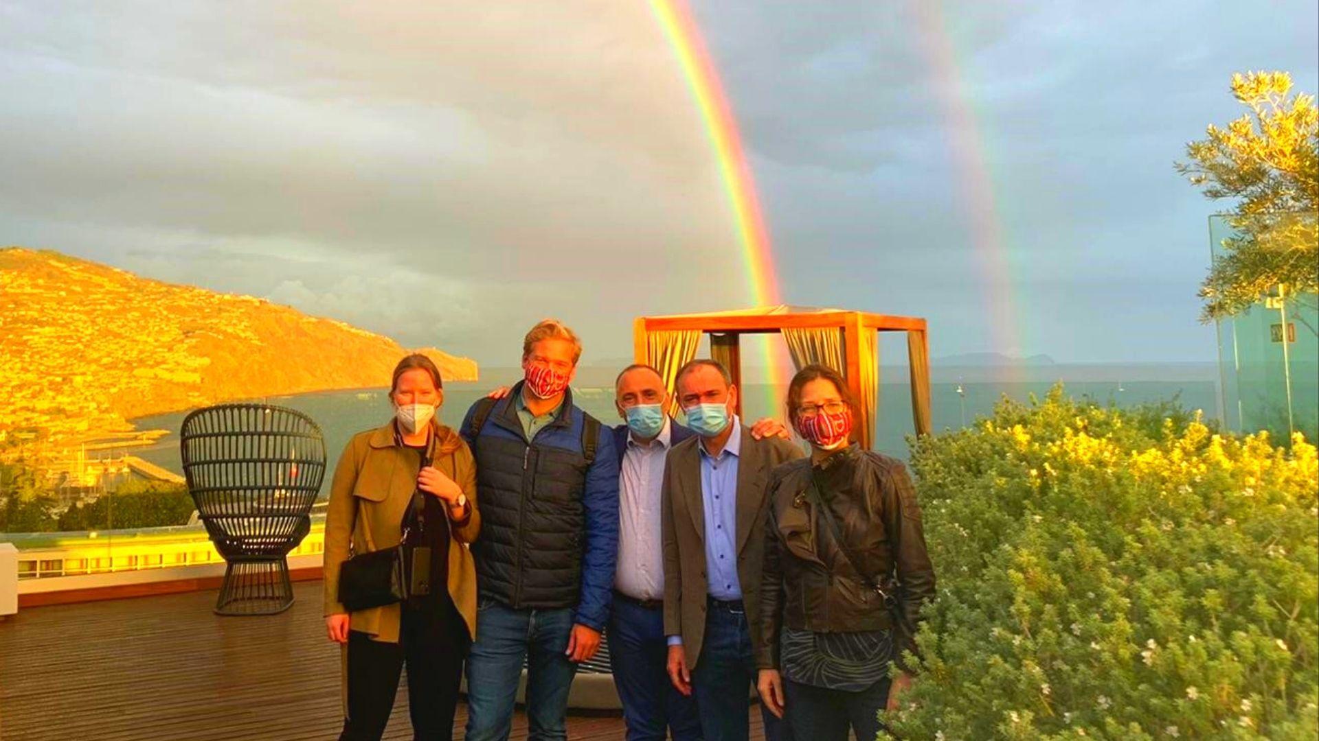 El equipo de Cititravel en Madeira